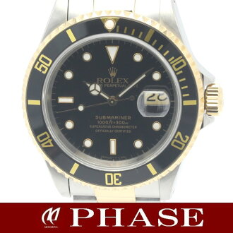 16613 Rolex black submarina YGSS combination black bezel men self-winding watch /31284