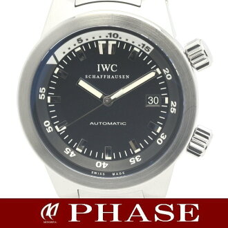 IWC (international) aqua timer IW354805 men self-winding watch /31367 fs3gm