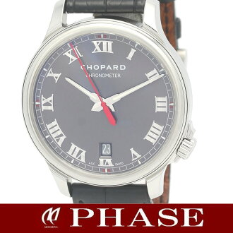 Chopard L.U.C classic 168527-3001 SSx black leather belt 1937 book limited edition mens automatic winding / 31444
