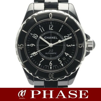 CHANEL H0685 J12 J12 38mm black ceramic men self-winding watch /31450 fs3gm