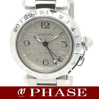 Self-winding watch /31542 fs3gm unisex in Cartier W31029M7 pasha C メリディアン GMT