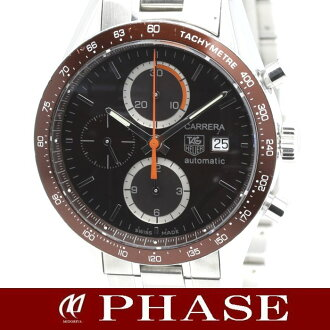 Tag Heuer CV2013 ニューカレラ tachymeter chronograph mens automatic winding / connects below 31600 5000036 fs3gm