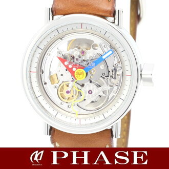 Alain Silberstein 2824B クラブメディオ ☆ 250 limited edition skeleton automatic mens / 31615 fs3gm
