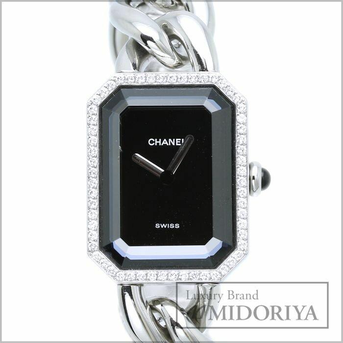 シャネル CHANEL プルミエール H0495 ダイヤベゼル ステンレス レディース クォーツ/33761 【】 腕時計