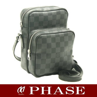 Louis Vuitton N41446 graphite REM / 18628 fs3gm