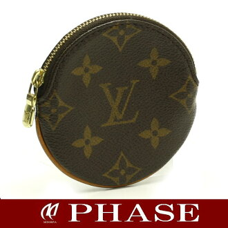 Louis Vuitton M61926 monogram Porto Monet Ron coin case /43109 fs3gm