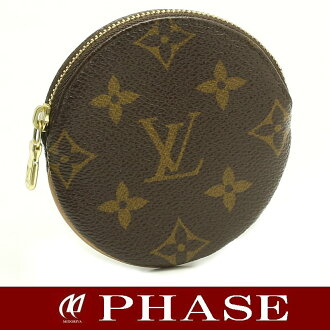 Louis Vuitton M61926 monogram Porto Monet Ron coin case /43363