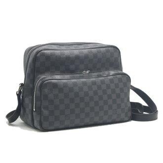 Louis Vuitton Louis Vuitton LOUIS VUITTON shoulder bag fit Damien grab IO n45252ye18497