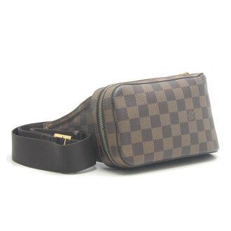 Louis Vuitton Louis Vuitton LOUIS VUITTON Shoulder bag Damier Jeronimos N51994/18509 0601 Rakuten card Division