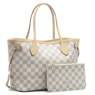 Louis Vuitton Tote Bag damieazur neverfull PM N41362/18516 Azul white white Louis Vuitton Vuitton LOUIS VUITTON bag 0601 Rakuten card Division
