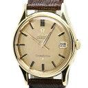 オメガ OMEGA コンステレーション YG無垢 14393 レザーベルト アンティーク メンズ 自動巻き/34405 腕時計