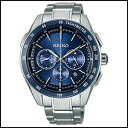 SEIKO セイコー ブライツ クロノグラフ ソーラー 電波 時計 メンズ 腕時計 SAGA181