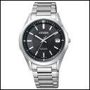 CITIZEN シチズン エクシード ソーラー 電波 時計 メンズ 腕時計 AS7090-51E