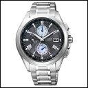 新品 即日発送 CITIZEN シチズン エクシード ソーラー 電波 メンズ 腕時計AT8075-52E