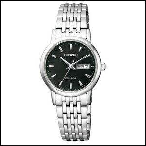 【コスパ高め】CITIZEN シチズン コレクション ソーラー 時計 レディース 腕時計 EW3250-53E 国内正規品 エコドライブ ペアモデル 女性用 ウオッチ