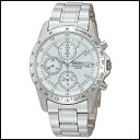 新品 即日発送 SEIKO セイコー クロノグラフ シルバ ホワイト オートマチック メンズ 腕時計 SND363P1