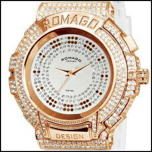 ロマゴデザイン トレンドシリーズ スイス メンズ レディース 腕時計 RM025-0256PL-RGWH ポイントアップ中 ROMAGO DESIGN Trend series ユニセックス ウオッチ