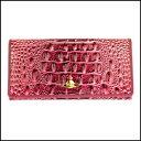 新品 即日発送 Vivienne Westwood ヴィヴィアンウエストウッド 長財布 二つ折り 財布 レディース ピンク1032V CHANCERY PNK