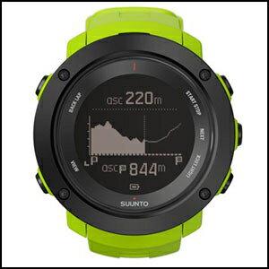 【アクティビティ特集】 新品 即日発送 SUUNTO スント アンビット3 バーティカル ライム メンズ 腕時計 SS021971000