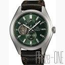 オリエント オリエントスター ソメスサドル セミスケルトン 自動巻き メンズ 腕時計 WZ0121DK