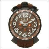 あす楽対応GaGa Milano ガガ ミラノ クロノグラフ 48MM クオーツ 時計 メンズ 腕時計 6054.5