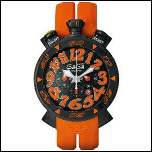 新品 即日発送 GaGa Milano ガガ ミラノ クロノグラフ 48MM クオーツ 時計 メンズ 腕時計 6054.3 並行輸入品 電池式 男性用 ウオッチウォッシャブル(ウォッシャブル)