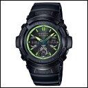 新品 即日発送 CASIO カシオ Gショック ソーラー 電波 時計 メンズ 腕時計 AWG-M100SLY-1AJF