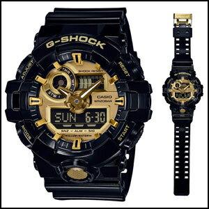 CASIO カシオ Gショック デジアナ 時計 メンズ 腕時計 GA-710GB-1AJF 国内正規品 G-SHOCK 男性用 ウオッチ