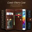 T-Cover Louis ダイアリーケース galaxy s3 sc-06d/sc-03e/galaxy s4 sc-04e/galaxy s5 sc-04f/galaxy note2 sc-02e/galaxy note3 sc-01f iPhone6/iPhone6 Plus スマホケース スマートフォン ギャラクシーアイフォン 対応 ダイアリー ケース カバー