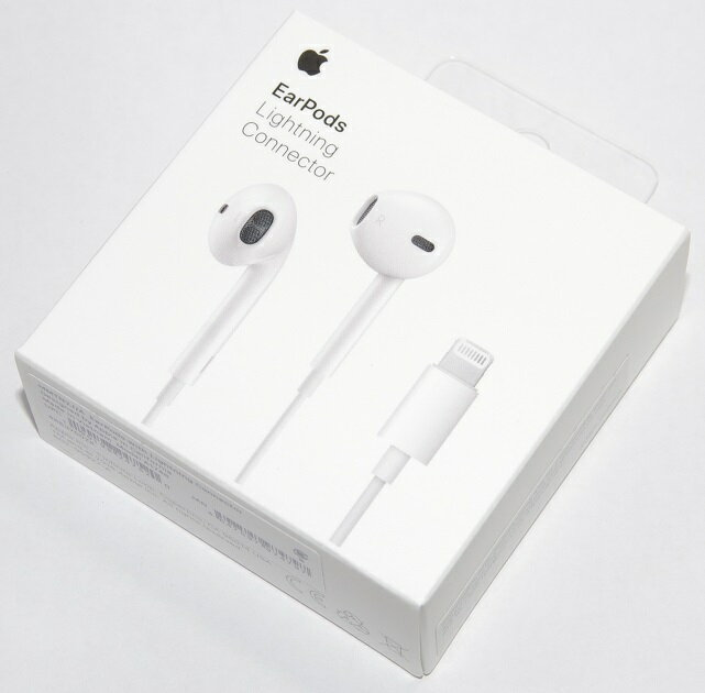 アップル純正 Apple EarPods with Lightning Connector MMTN2J/A 国内純正品 iPhone/iPad/iPod対応 あす楽対応