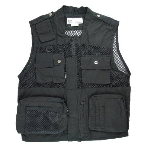【送料無料】King Photo Style シューティングベスト9 Lサイズ ブラック (カメラマン ベスト ジャケット)
