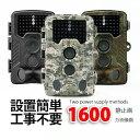 【3色選択可】防犯カメラ トレイルカメラ 監視カメラ ループ録画 人感センサー赤外線microSD 32GB付き■575