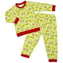 女の子 キッズ パジャマ 長袖パジャマ 上下セット アニマル柄 寝間着 裏毛パジャマ 女の児