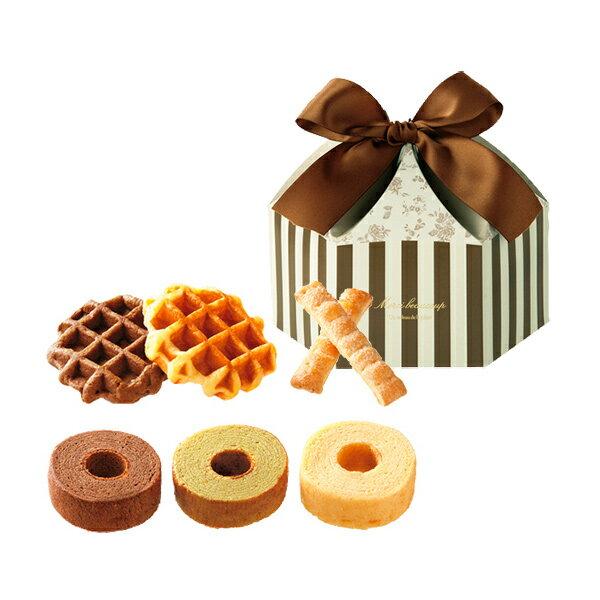 引き菓子メルシィ— スイーツセットC(引菓子 引き出物 引出物 内祝い ギフト 結婚式 ウェディング ウエディング 出産内祝い お返し 快気祝い)