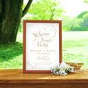筆記本 - グラフィック ウェルカムボード(ロゼッタ ロッソ)結婚式 ギフト お祝い 披露宴 ウェディング ウェルカムボード シンプル