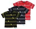 【コンベックス CONVEX 子供服】Value ホッピング総柄 Tシャツ(100-150)
