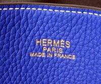 HERMESエルメスリバーシブルトートバックダブルセンス/ドゥブルセンス45GRAPHITE/BLUEELECTRICグラファイト/ブルーエレクトリック