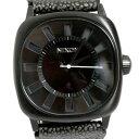 【送料無料】NIXON ニクソン 腕時計 A012-288 THE REVOLVER リボルバー ブラック レザーベルト メンズ【楽ギフ_包装】