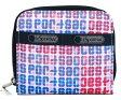 【新品】【最新柄】LeSportsac ラウンドファスナー二つ折財布 CLAIRE 6505-D483 LEANTHEM ルアンセム