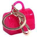 FURLA フルラ キーホルダー キーチャーム 751457 CANDY KEYRING BORSA キャンディバッグ型 GLOSS ピンク
