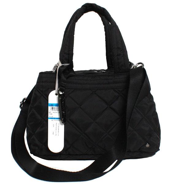 【送料無料】【最新モデル】LeSportsac レスポートサック レディース  CITY MERCER TOTE 4239 P668 PHANTOM BLK QUILTED ファントムブラックキルテッド 旅行バッグ
