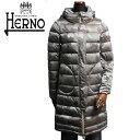 HERNO ヘルノ レディース ロング ショート ダウンコート PI0572D 12207 8050 カモフラージュ グレイベージュ