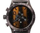 【送料無料】NIXON ニクソン 腕時計 A083 1073 51-30 CHRONO TIGERSEYE タイガーアイ ブラウン 【楽ギフ_包装】
