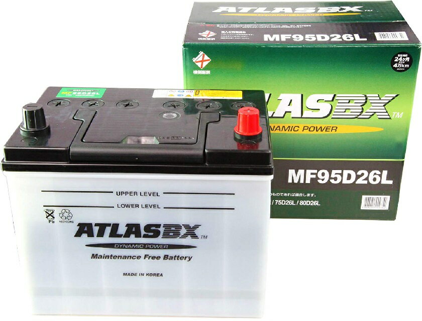【送料無料】アトラス バッテリー ATLAS 自...の商品画像