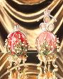 <鈴蘭 Sサイズ>ピーター・カール・ファベルジェが作製したインペリアルイースターエッグ レプリカ ロマノフ王朝の秘宝を復刻! 就職祝い 父の日 卒業 入学 可愛い 超目玉 特別キャンペーン