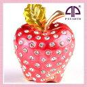 【訳あり】<アップル ジュエリーボックス>大粒クリスタルを贅沢に使用 おいしそうな小さいリンゴの置物 プチギフトにぴったり ギフト 卒業 入学 可愛い 超目玉 ...