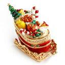 <マロンのゆきぞり ジュエリーボックス>プレゼントいっぱいの...