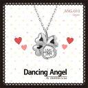 送料無料 レディースネックレス Dancing Angel ...