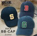 ショッピングワッペン 帽子 キャップ メンズ BBキャップ ダック DUCK ワッペン ロゴ PENNANTBANNERS