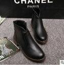 ショッピングブーツ ファスナー付ショートブーツ 靴 美脚 レディース